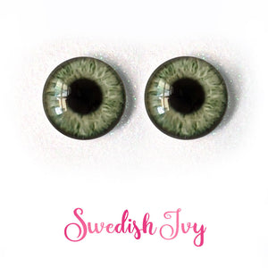 Swedish Ivy - Premium Adhesive Glass Irises for Infinity™ Doll Eyes
