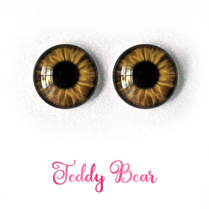 Teddy Bear - Premium Adhesive Glass Irises for Infinity™ Doll Eyes