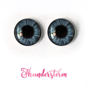 Thunderstorm - Premium Adhesive Glass Irises for Infinity™ Doll Eyes