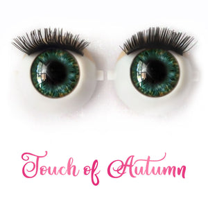 Touch of Autumn - Premium Adhesive Glass Irises for Infinity™ Doll Eyes