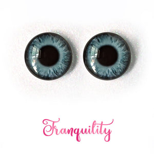 Tranquility - Premium Adhesive Glass Irises for Infinity™ Doll Eyes