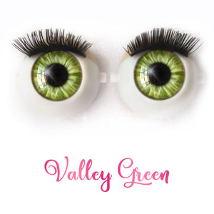 Valley Green - Premium Classic Infinity™ Blinking Doll Eyes