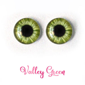 Valley Green - Premium Adhesive Glass Irises for Infinity™ Doll Eyes