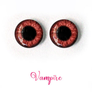 Vampire - Premium Adhesive Glass Irises for Infinity™ Doll Eyes