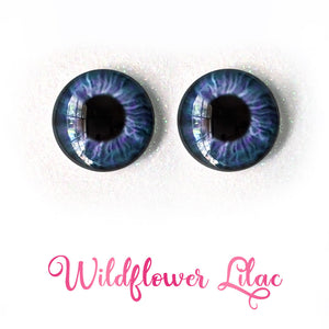 Wildflower Lilac - Premium Adhesive Glass Irises for Infinity™ Doll Eyes