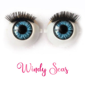 *IMPERFECT* Windy Seas - Premium Classic Infinity™ Blinking Doll Eyes