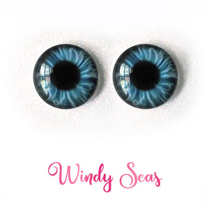 Windy Seas - Premium Adhesive Glass Irises for Infinity™ Doll Eyes