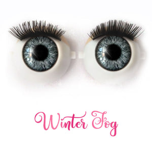 *IMPERFECT* Winter Fog - Premium Classic Infinity™ Blinking Doll Eyes