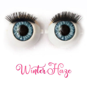 Winter Haze - Premium Adhesive Glass Irises for Infinity™ Doll Eyes