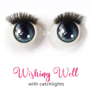 *IMPERFECT* Wishing Well (Anime) - Premium Classic Infinity™ Blinking Doll Eyes