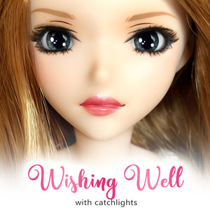 Wishing Well (Anime) - Reflective BJD Eyes in SD Semi-Real Size (18mm Eye, 8mm Iris)