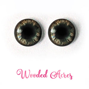 Wooded Acres - Premium Adhesive Glass Irises for Infinity™ Doll Eyes