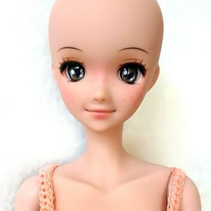 Acorn Brown - Premium BJD Eyes in SD Half-Open Size (18mm Eye, 10mm Iris)