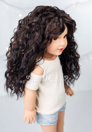 Chocolate Coal - Limited Edition Deluxe Ethereal Wig (Size 11)