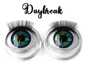 Daybreak - Standard Co-op Open/Close Doll Eyes (Light Tan Eyelids)