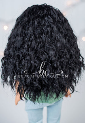 Ebony Black - Limited Edition Deluxe Ethereal Wig (Size 11)