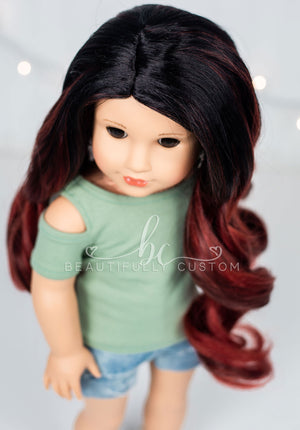 Falling Leaves - Limited Edition *Lightly Textured* Deluxe Paradise Wig (Size 11)