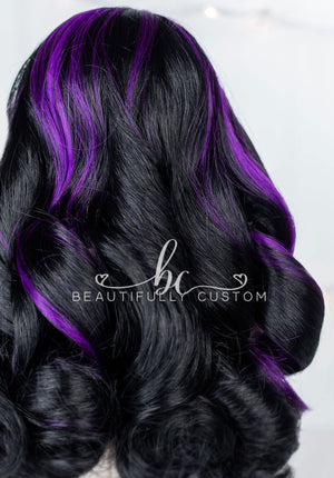 Galaxy Black - Limited Edition Deluxe Paradise Wig (Size 11)