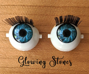 *IMPERFECT* Glowing Stones - Premium Blinking Doll Eyes (Retired Version)