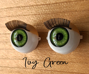Ivy Green - Standard Blinking Doll Eyes (Very Pale Eyelids)