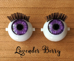 Lavender Berry - Premium Blinking Doll Eyes (Retired Version)