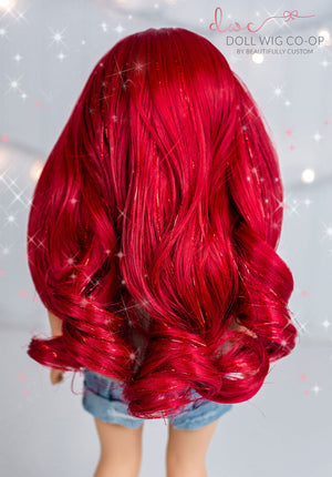 Mermaid Sparkle - *GLITTER* Gabby Style Co-op Wig (Size 11)