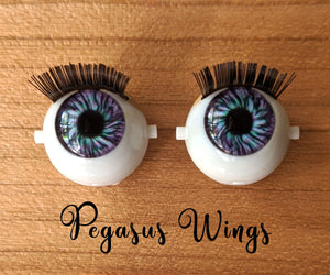 Pegasus Wings - Premium Blinking Doll Eyes (Retired Version)