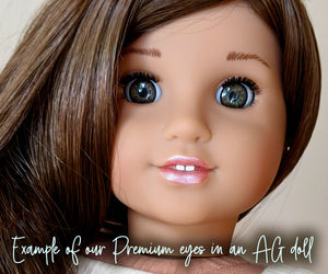 Flourishing Green - Premium Blinking Doll Eyes (Retired Version)