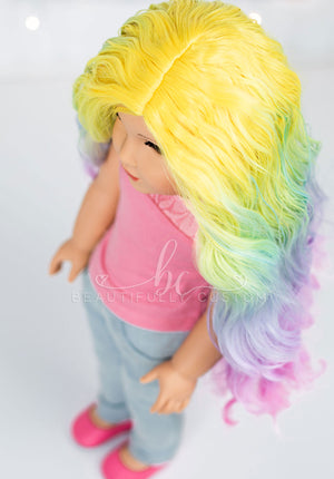 *SECONDS QUALITY* Rainbow Delight - Limited Edition Deluxe Splendor Wig (Size 11)