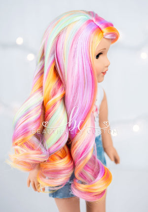 Rainbow Sherbet - Limited Edition Deluxe Paradise Wig (Size 11)