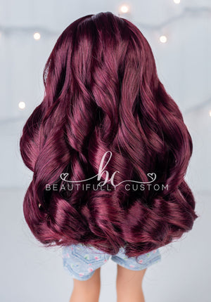 Deluxe Paradise Wig – Red Wine (Size 11)