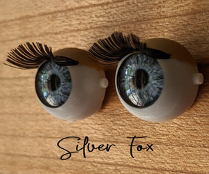 Silver Fox - Premium Blinking Doll Eyes