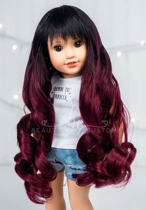 Velvet Rose - Limited Edition *Slightly Textured* Deluxe Princess Wig (Size 11)