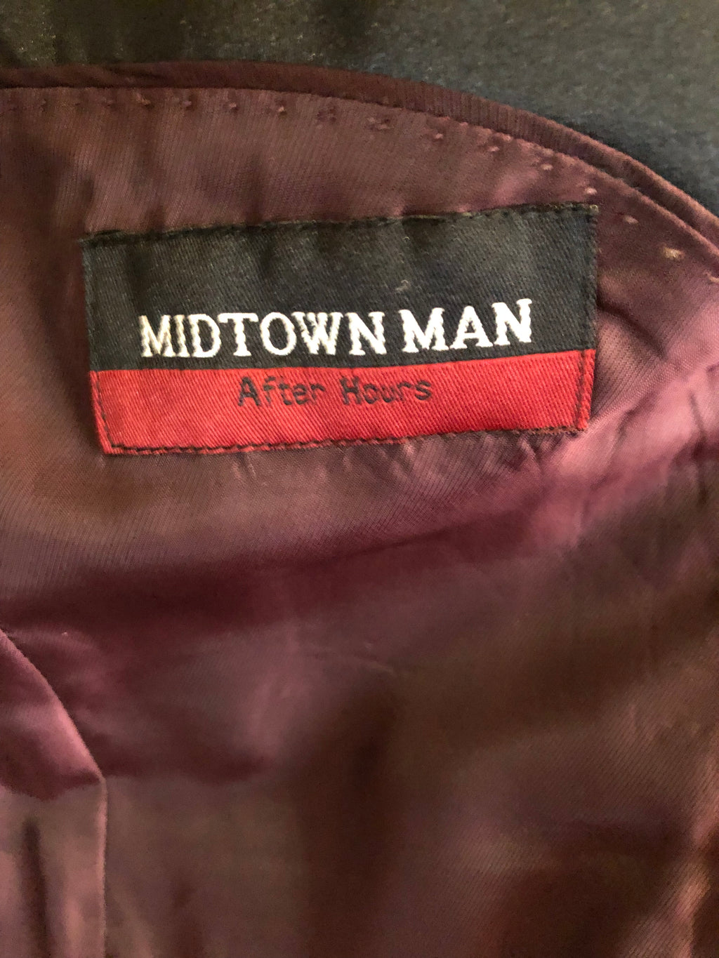 "Men's Tuxedo & Dinner Jackets: ""Midtown Man"" Three-Button Black Tuxedo Jacket"