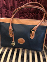 "Vintage Purses: 1960s 1970s Authentic ""Dooney & Bourke"" All-Weather Leather Satchel"