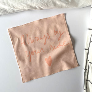 Always by your side organic cotton handkerchief