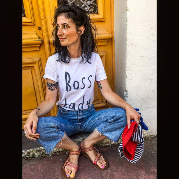 Boss Lady Tee Organic cotton