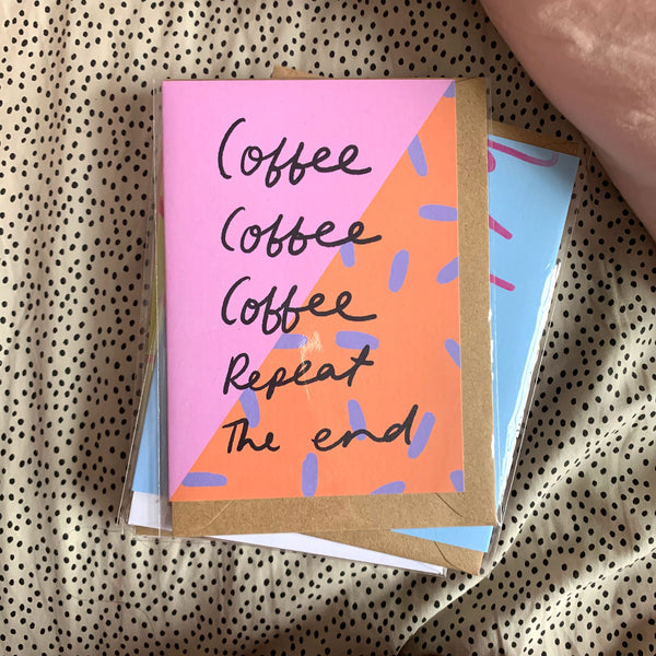 Coffee repeat card