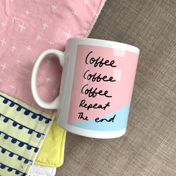 Coffee Repeat Mug