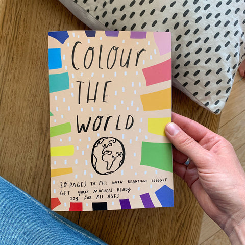 Colouring book: Colour the world