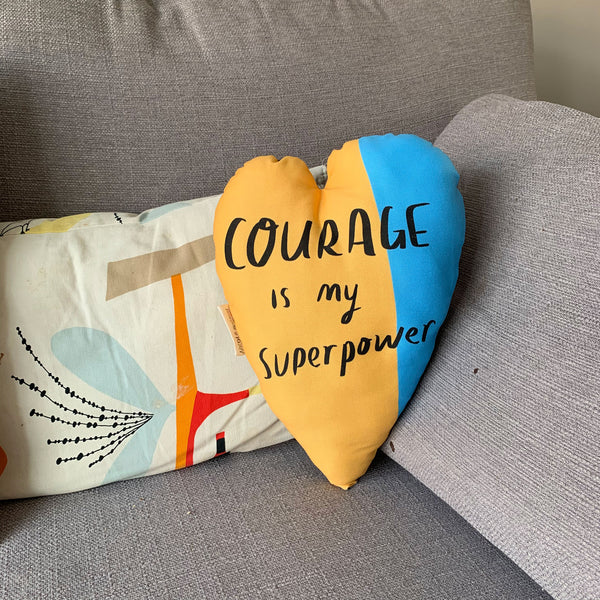 Courage Heart Plushie