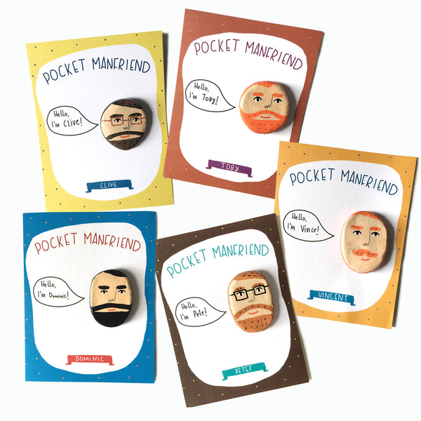 Pocket person pack of 3
