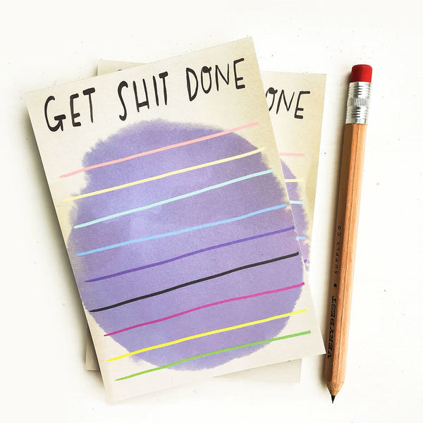 Desk Jotter: Get sh!t done!