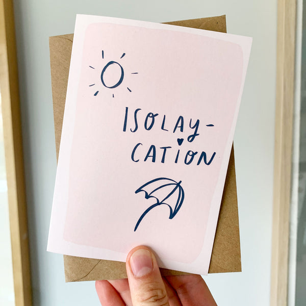 ISOLAY-CATION card TILLY HOBBS & CO x NR Collab