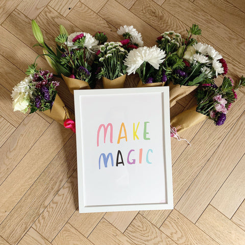 Make Magic a4 print