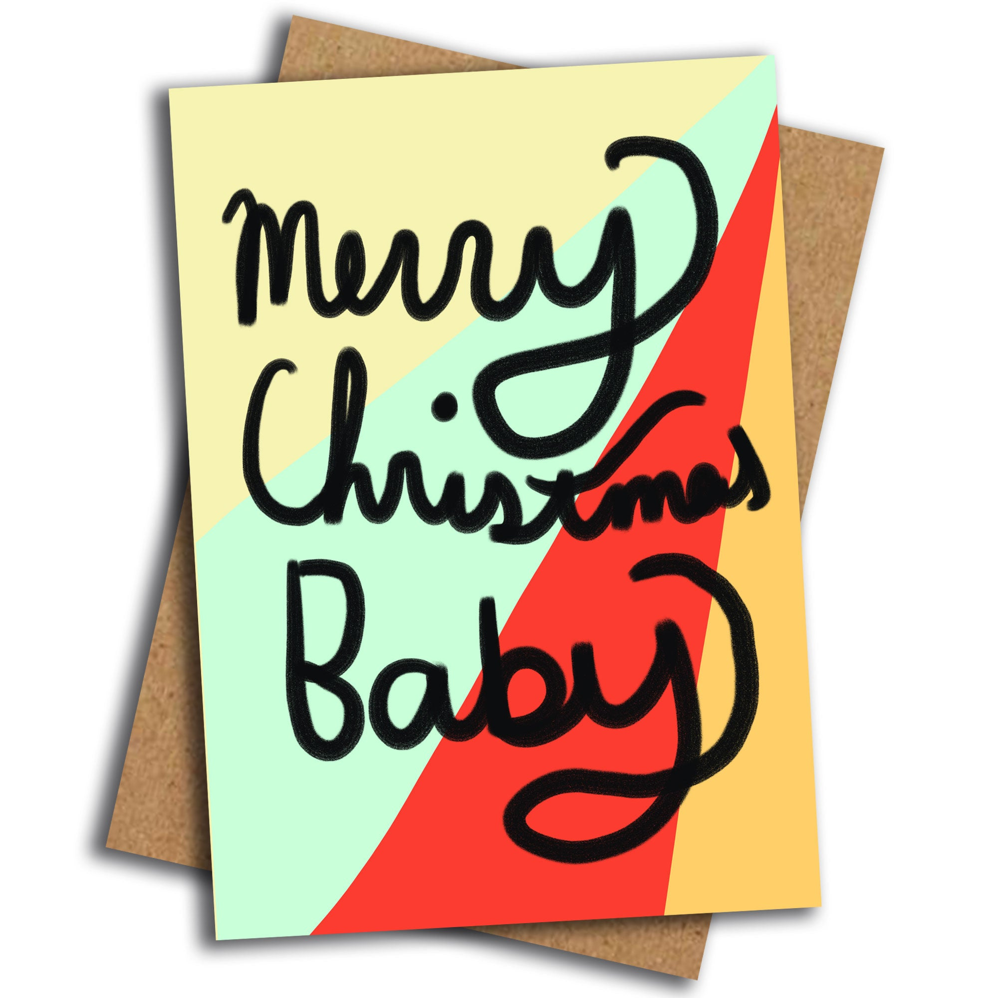 Merry Christmas Baby card