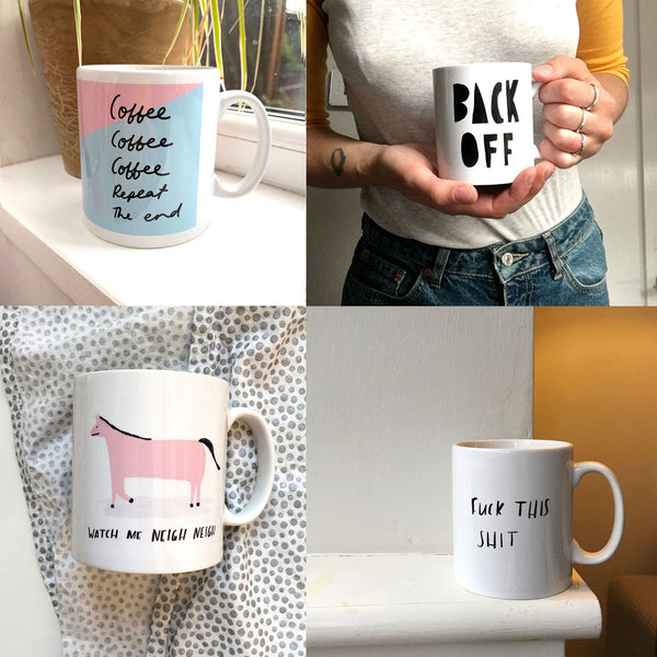 Two mugs of your choice