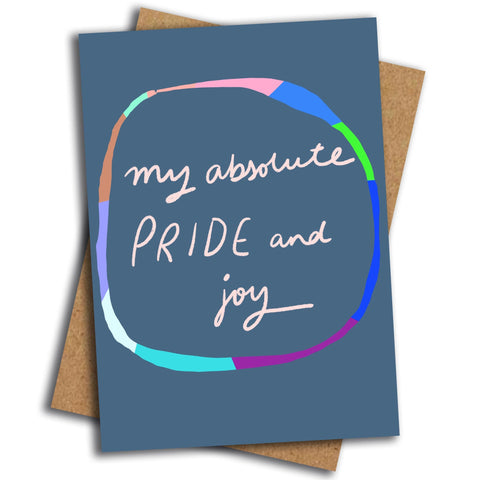 My Pride and Joy card