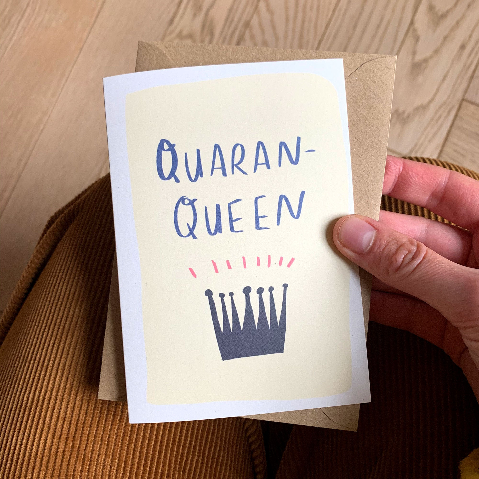 QUARAN-QUEEN card TILLY HOBBS & CO x NR Collab