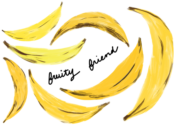 Fruity friend card